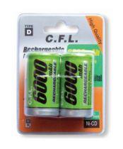 C.F.L. 6000 mAh 2 x D Size �arjl� B�y�k Boy Pil