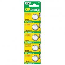 GP CR2025 3V Lithium Pil 5`li
