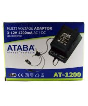 Ataba AT-1200 3-12V 1200Mah 27,4W Adapt�r